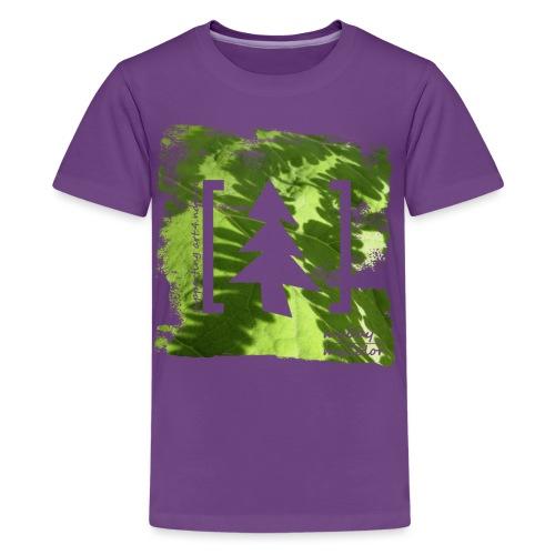 art.4.nature #JederBaum - Teenager Premium T-Shirt