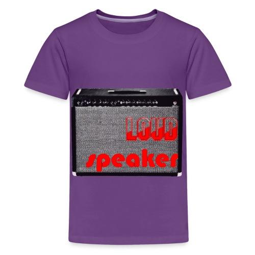 LOUDSPEAKER - Teenage Premium T-Shirt