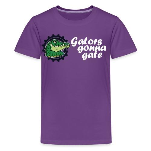 gator fw png - Teenage Premium T-Shirt