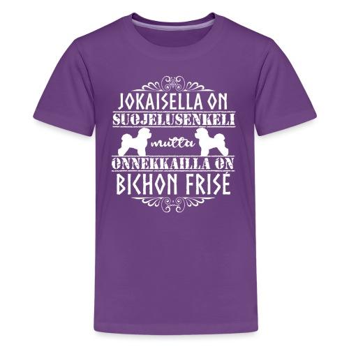 bichonfriseenkeli - Teinien premium t-paita