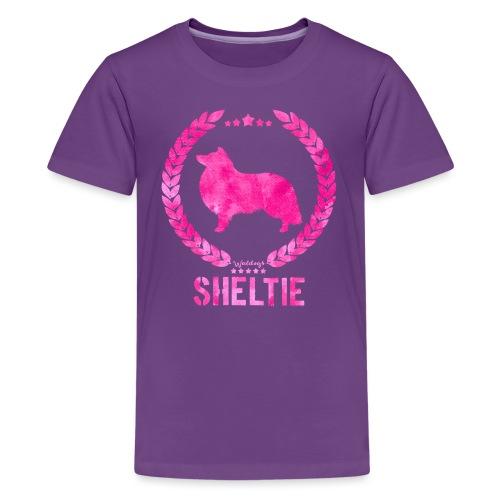 sheltiearmy - Teenage Premium T-Shirt