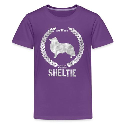 sheltiearmy3 - Teenage Premium T-Shirt