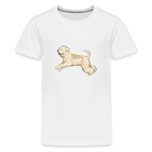 Wheaten Terrier Diamonds 4 - Teenage Premium T-Shirt