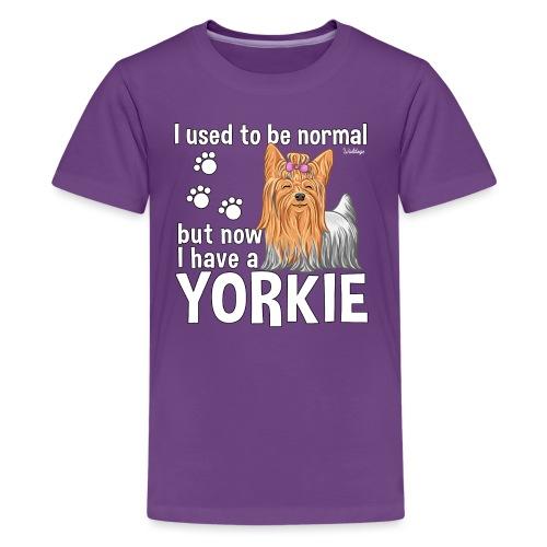 Yorkie Normal - Teinien premium t-paita