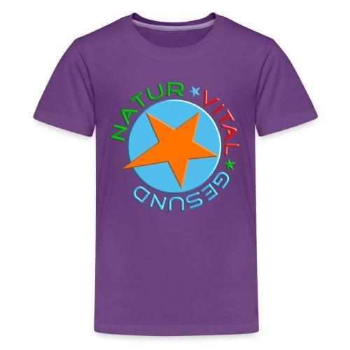Natur-vital-gesund - Teenager Premium T-Shirt