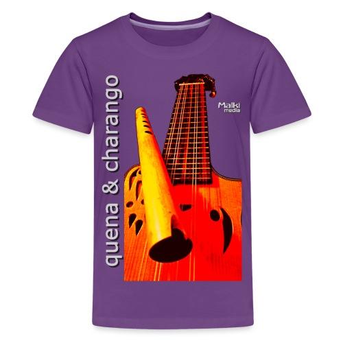 Quena y Charango I bis - Camiseta premium adolescente