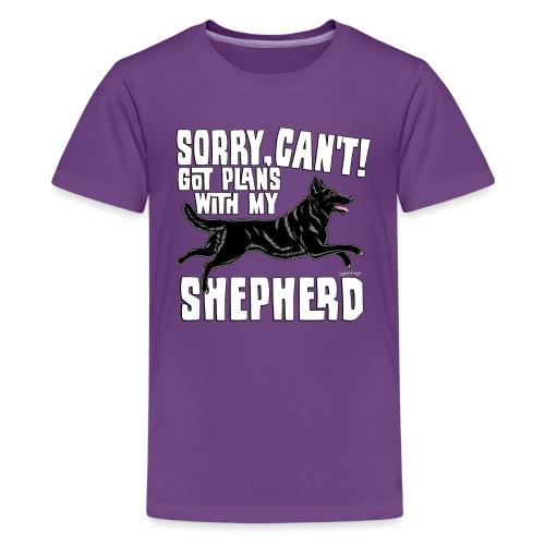 GSD Shepherd Plans 5 - Teinien premium t-paita