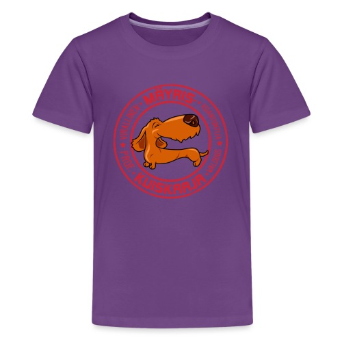 Mäyriskuiskaaja II - Teinien premium t-paita