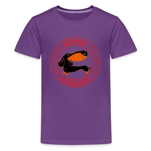 Mäyriskuiskaaja VI - Teinien premium t-paita