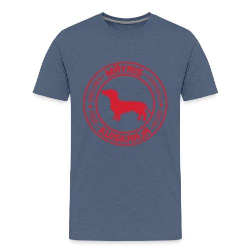 Mäyriskuiskaaja RED II - Teinien premium t-paita