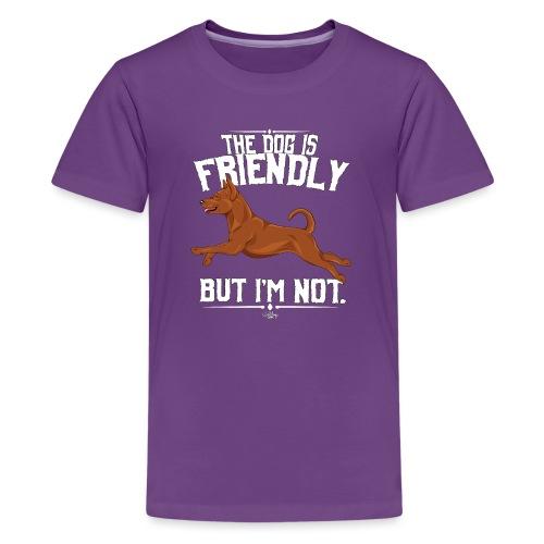 pinscherfriendly - Teinien premium t-paita