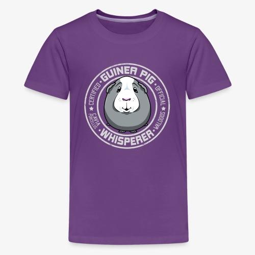 Guinea Pig Whisperer III - Teinien premium t-paita