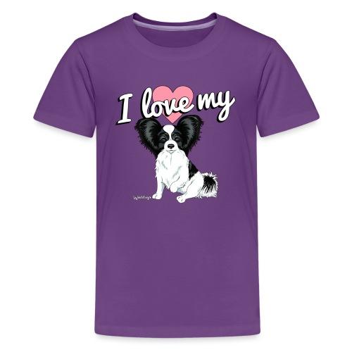 papilove - Teenage Premium T-Shirt