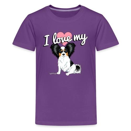 papilove2 - Teenage Premium T-Shirt