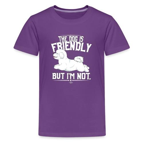 bichonfriendly - Teinien premium t-paita