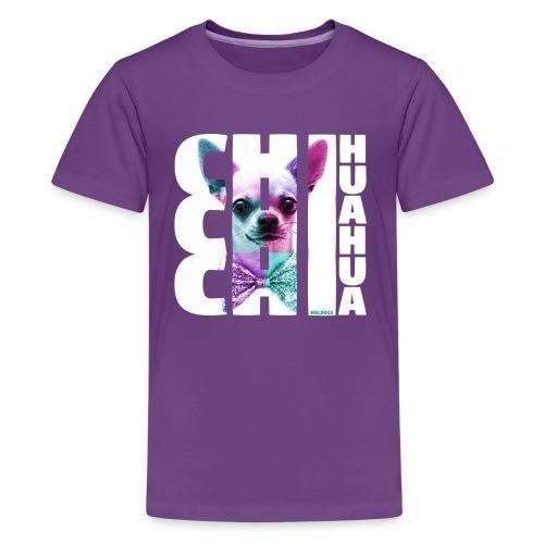 NASSU Chichi Color - Teinien premium t-paita