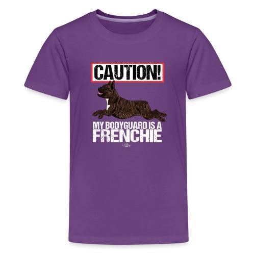 frenchbodyguard2 - Teenage Premium T-Shirt