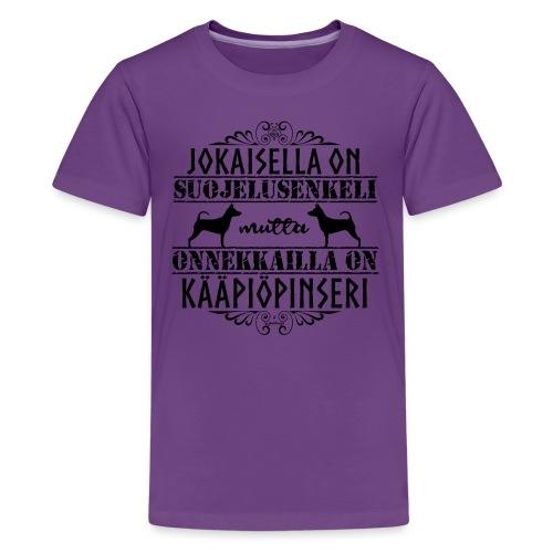 kääpiöpinsuenkelim - Teinien premium t-paita