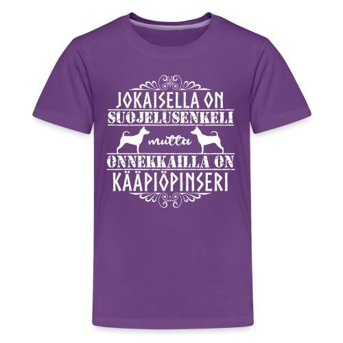 kääpiöpinsuenkeli - Teinien premium t-paita