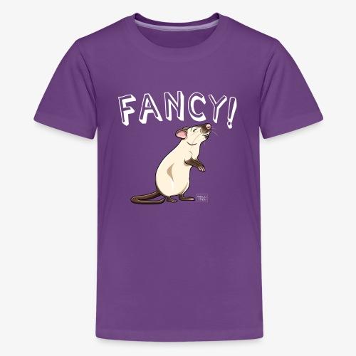 Fancy! Rat X - Teinien premium t-paita