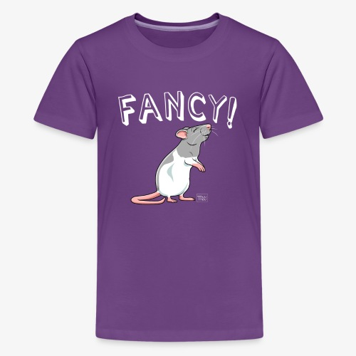 Fancy! Rat XIII - Teinien premium t-paita
