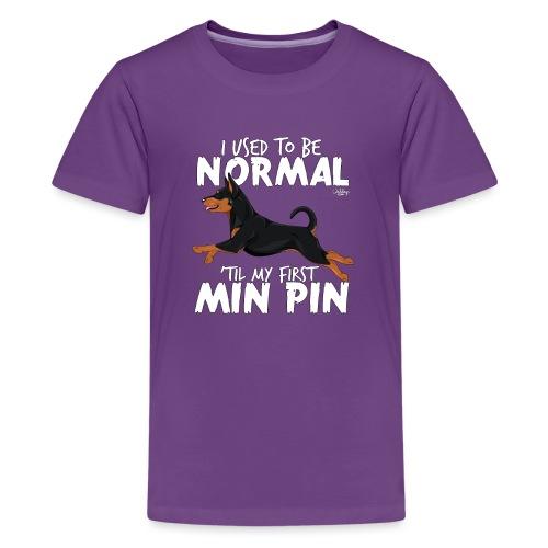 minpinnormal - Teinien premium t-paita