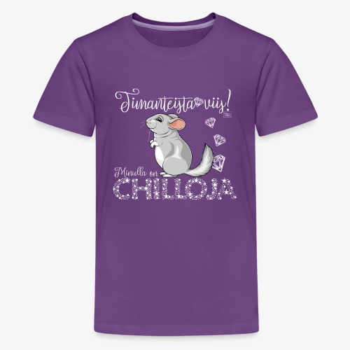 DimangiChilloja IV - Teinien premium t-paita