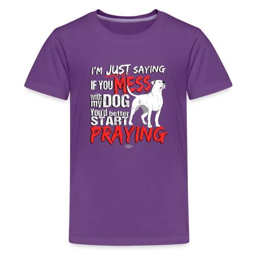 ambpraying - Teenage Premium T-Shirt