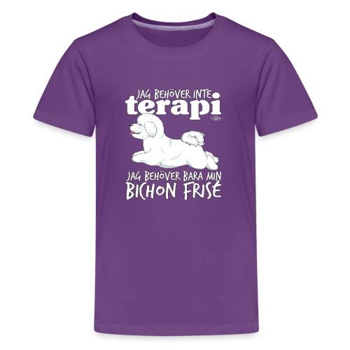 bichonterapi - Teinien premium t-paita