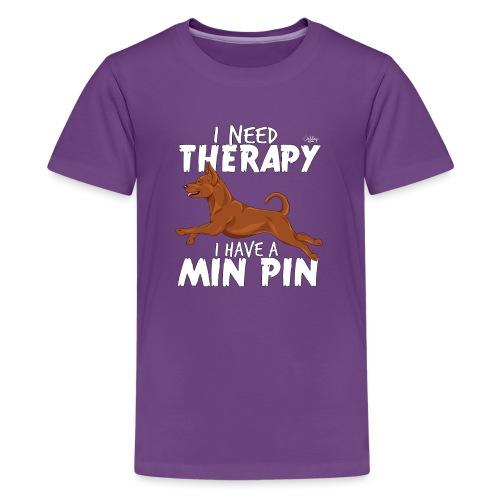 minpintherapy - Teinien premium t-paita