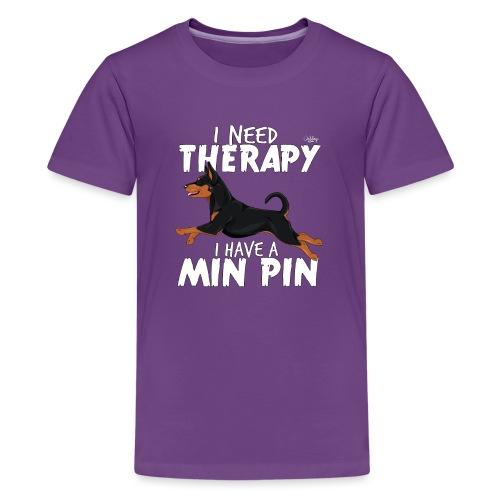 minpintherapy2 - Teinien premium t-paita