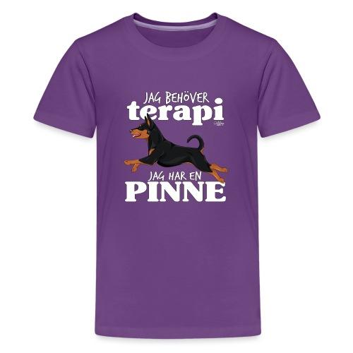 pinneterapi3 - Teinien premium t-paita