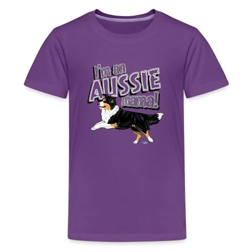 aussiemama6 - Teenage Premium T-Shirt