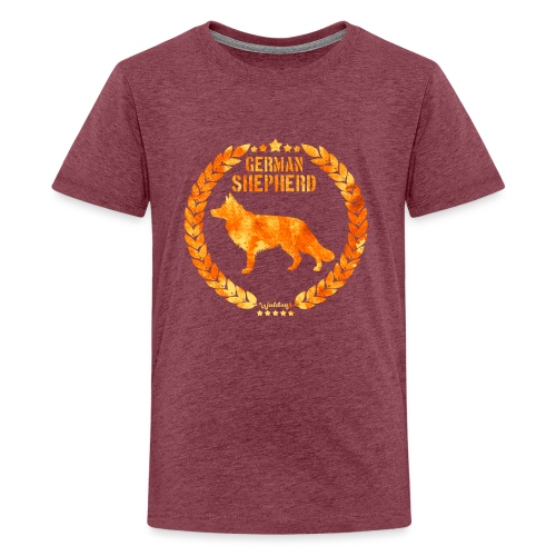 GSD Copper Army - Teinien premium t-paita