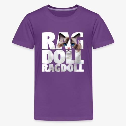 Ragdoll I - Teinien premium t-paita