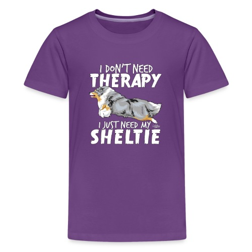 sheltietherapy4 - Teenage Premium T-Shirt
