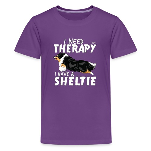 sheltietherapy2 - Teenage Premium T-Shirt