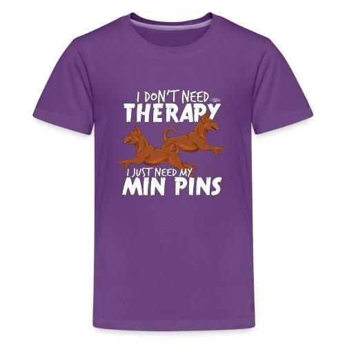 minpinstherapy - Teinien premium t-paita