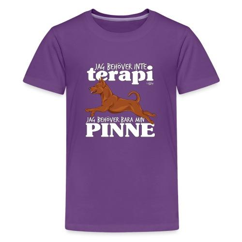 pinneterapi - Teinien premium t-paita