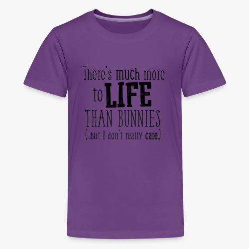 Bunnies More B - Teinien premium t-paita