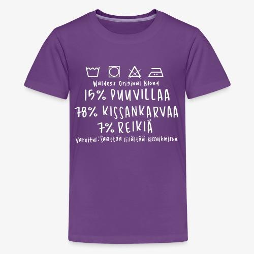 Kissan Omistajan Paita 2 - Teinien premium t-paita