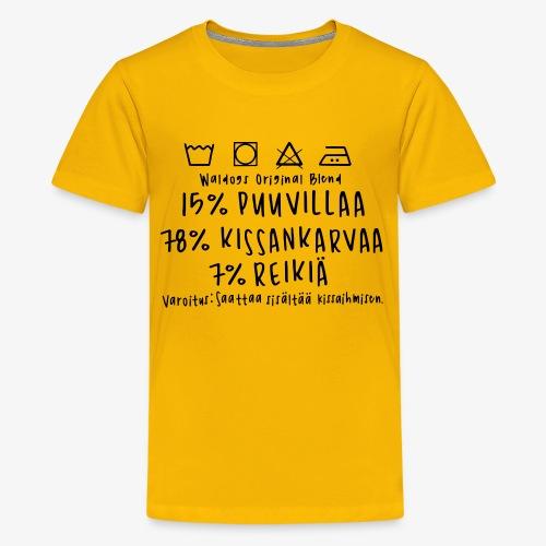 Kissan Omistajan Paita - Teinien premium t-paita