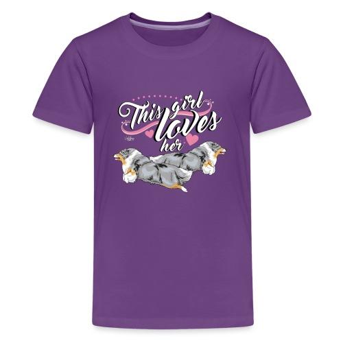 sheltiesgirl4 - Teenage Premium T-Shirt