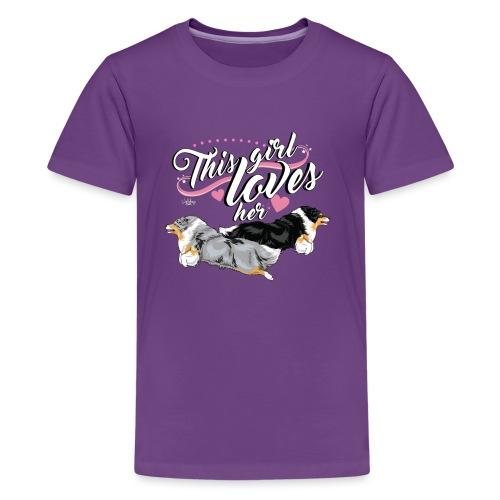 sheltiesgirl5 - Teenage Premium T-Shirt