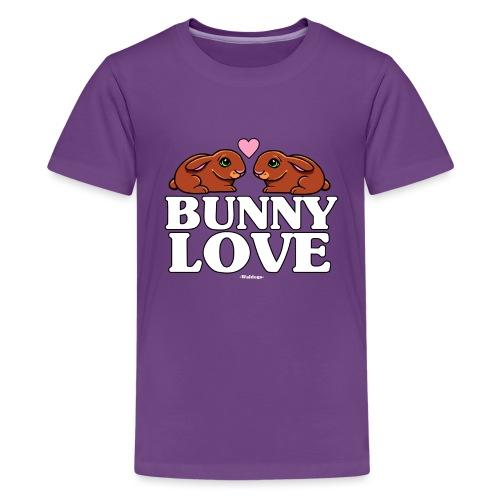 Bunny Love 4 - Teinien premium t-paita