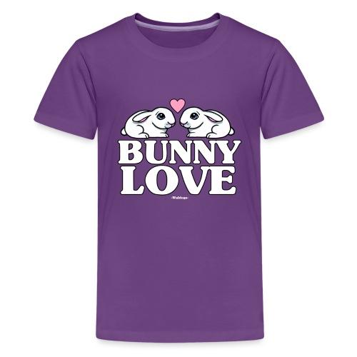 Bunny Love 2 - Teinien premium t-paita
