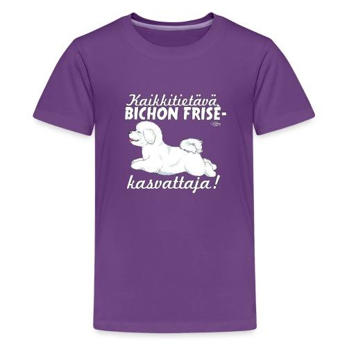 bichonkasvattaja - Teinien premium t-paita