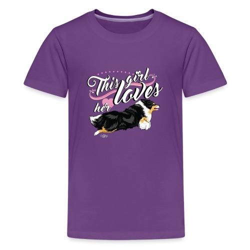 sheltiegirl - Teenage Premium T-Shirt