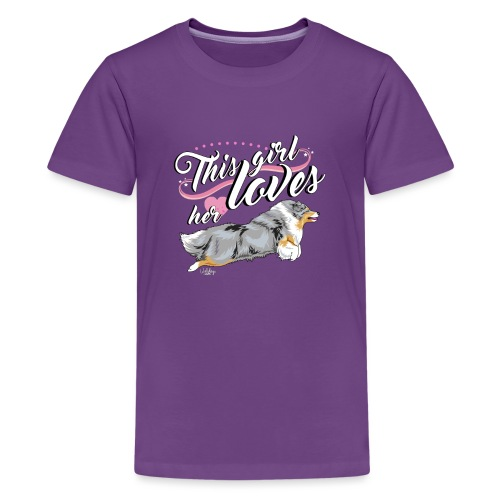 sheltiegirl3 - Teenage Premium T-Shirt