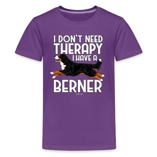 Bernese Berner Therapy 4 - Teinien premium t-paita